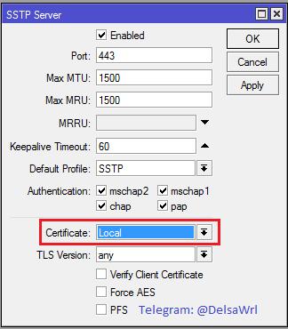 SSTP Server