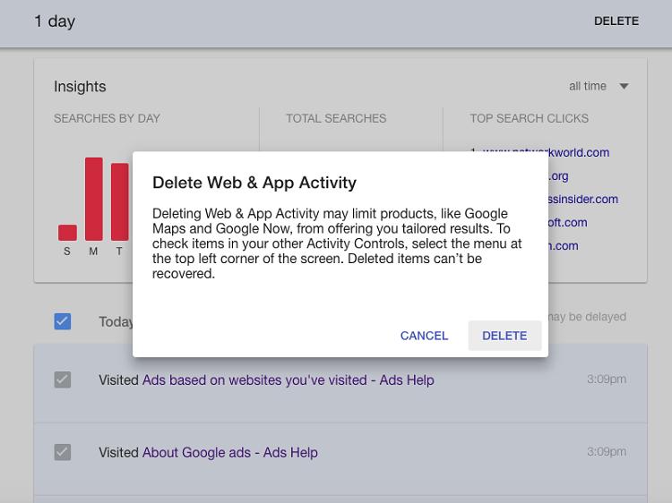 Web & App Activity
