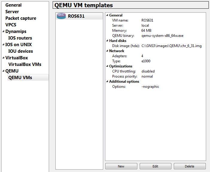 QEMU VM templates