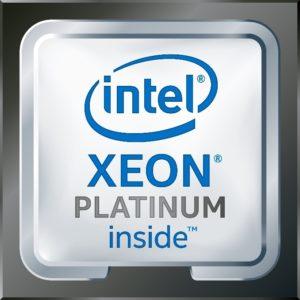 intel XEON Platinum inside