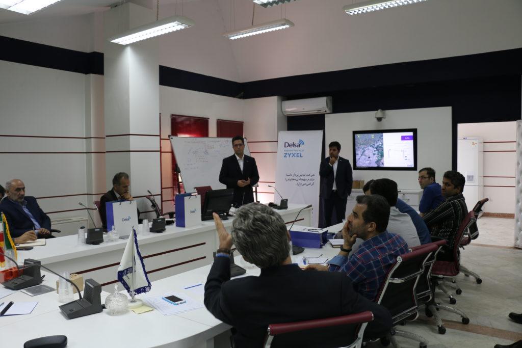 سمینار راهکارهای voip در بستر وایفای برای مخابرات گیلان