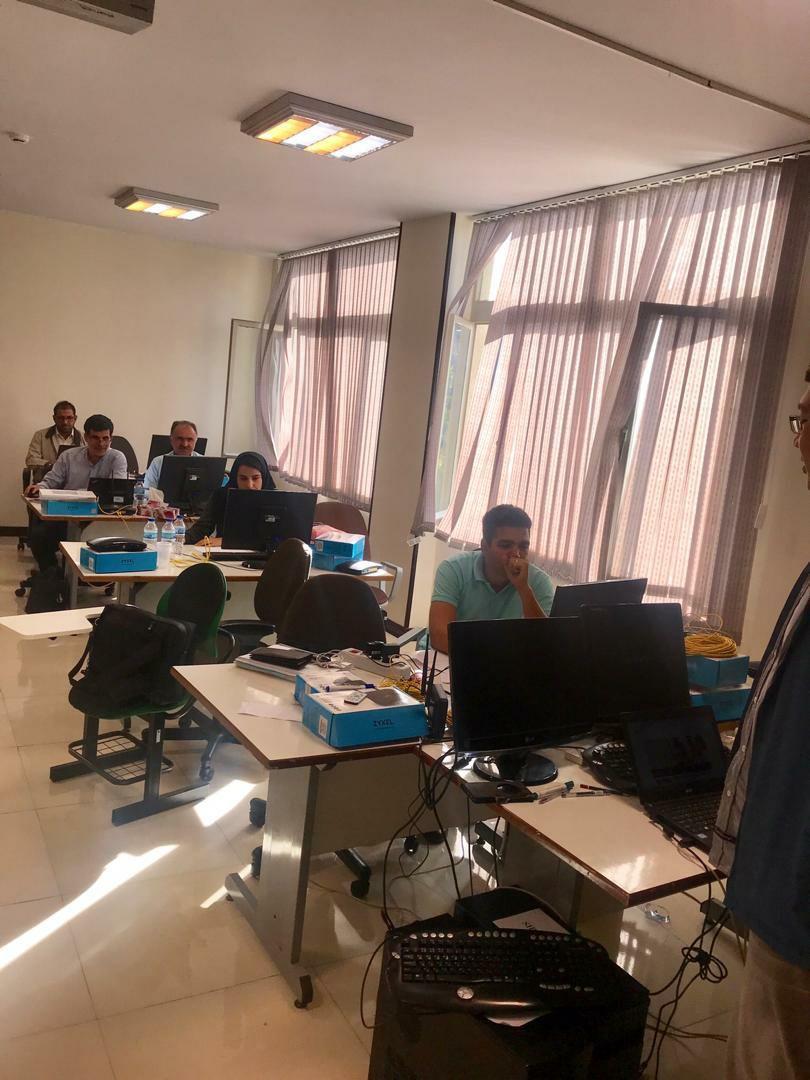 برگزاری دورههای آموزش پیشرفته تجهیزات GPON زایکسل