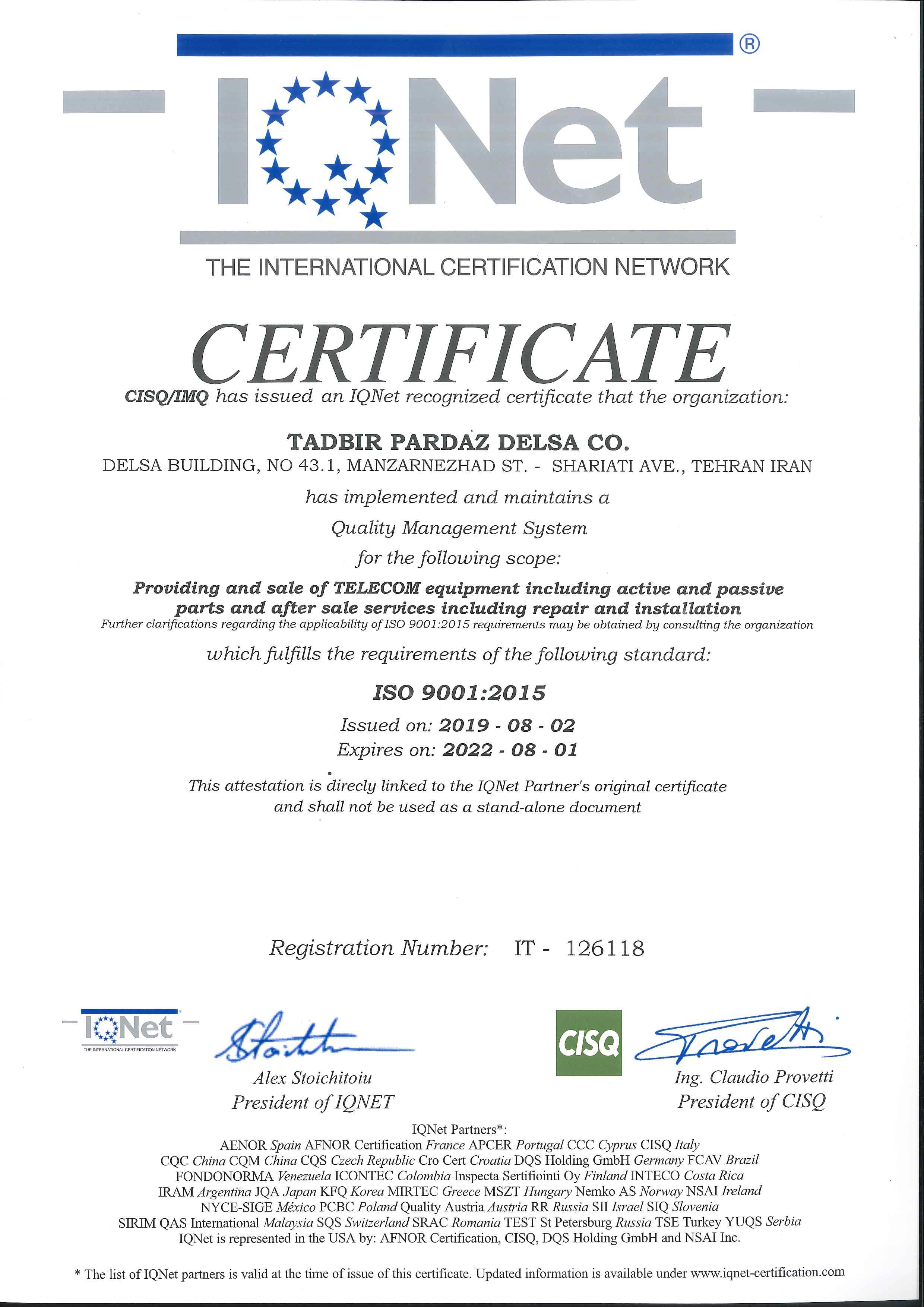 TADBIR-PARDAZ-DELSA-9001-ایزو-2